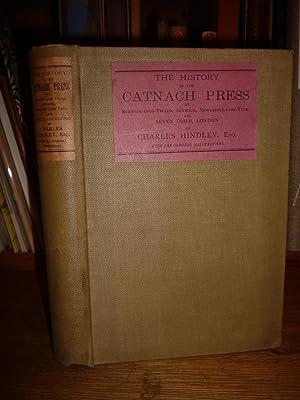 The History of the Catnach Press, at: Hindley (Charles).
