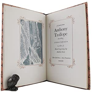 A LETTER FROM ANTHONY TROLLOPE describing a: Trollope (Anthony)