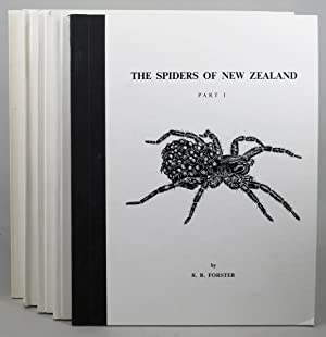 THE SPIDERS OF NEW ZEALAND. Parts I-V