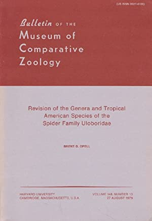REVISION OF THE GENERA AND TROPICAL AMERICAN SPECIES OF THE SPIDER FAMILY ULOBORIDAE