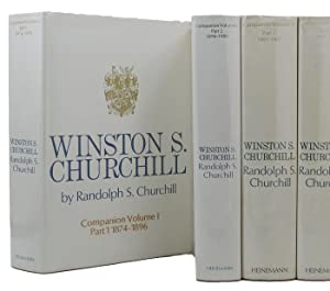 WINSTON S. CHURCHILL: COMPANION VOLUMES I - III