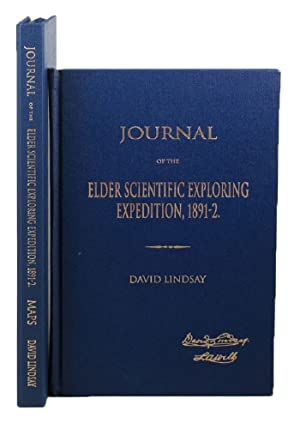 JOURNAL OF THE ELDER SCIENTIFIC EXPLORING EXPEDITION,: Lindsay (D.)