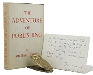 THE ADVENTURE OF PUBLISHING: Joseph, Michael