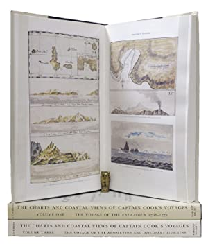THE CHARTS & COASTAL VIEWS OF CAPTAIN COOK'S VOYAGES