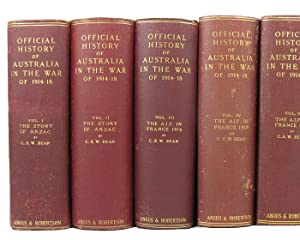 THE OFFICIAL HISTORY OF AUSTRALIA IN THE WAR OF 1914-1918 [series title]