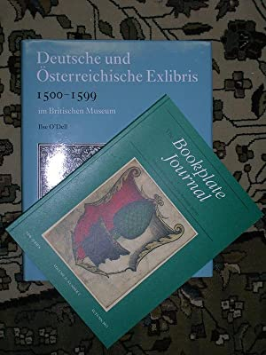 "Deutsche und Osterreichische Exlibris 1500-1599. [with] ""The Bookplate Journal"" New ..."