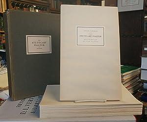The Stuttgart Psalter, Biblia Folio 23, Wuerttembergische: DE WALD, Ernest