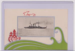 Postcard - Japanese Military Naval