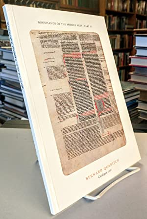 Bookhands of the Middle Ages: VI. Medieval Manuscripts, Leaves and Binding Fragments. Bernard Qua...