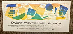 The Bow & Arrow Press: A Show of Recent Work