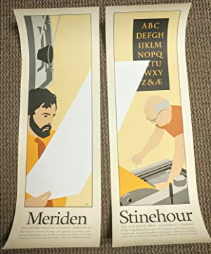 Meriden/Stinehour. Two parts. [Poster]: HIDY, Lance