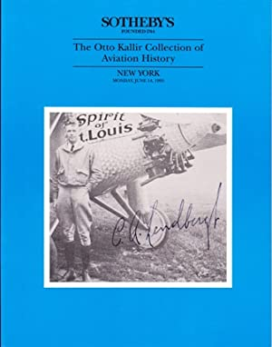 The Otto Kallir Collection of Aviation History