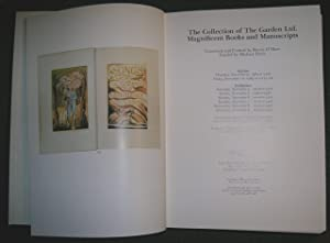 The Collection of The Garden Ltd. Magnificent Books and Manuscripts