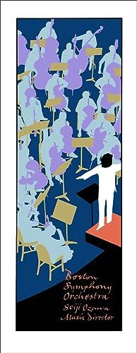 Boston Symphony Orchestra. [Poster].: HIDY, Lance.