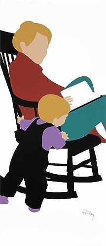 Rocking Chair. [Silkscreen print].: HIDY, Lance.