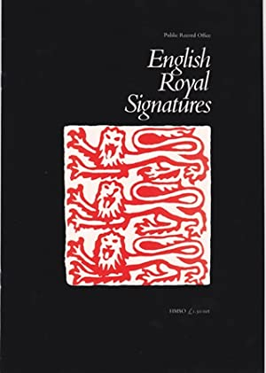 English Royal Signatures