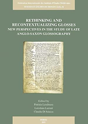 Rethinking and Recontextualizing Glosses. New Perspectives in: LENDINARA, P., L.