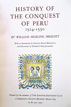 History of the Conquest of Peru 1524-1550