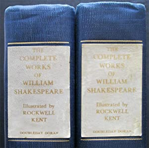 The Complete Works of William Shakespeare, the Cambridge Edition Text. Complete in 2 vols.