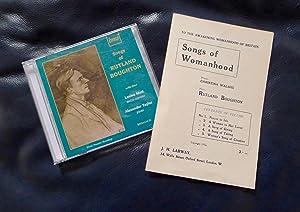 Songs of Womanhood. To the awakening womanhood: Walshe, Christina (words);
