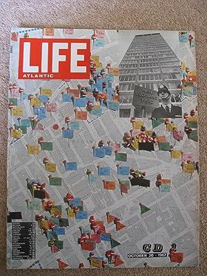 LIFE (magazine). 30 October 1967. MI6 vs CIA, New Scotland Yard [Police], Lowry, Ted Serios