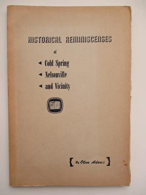 Historical Reminiscences of Cold Spring, Nelsonville and Vicinity: Adams, Olive