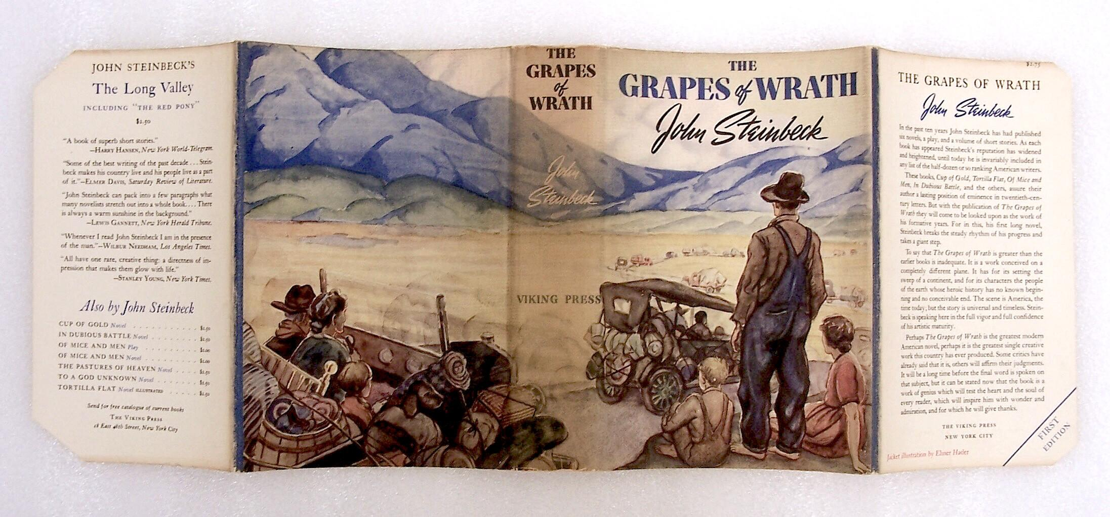 what does the title grapes of wrath mean