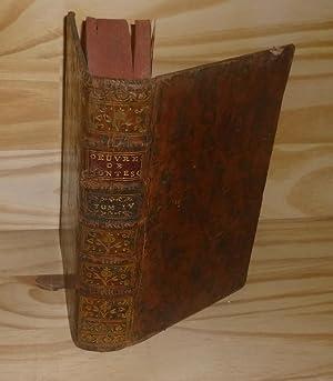 Oeuvres de Monsieur de Montesquieu, nouvelle édition: MONTESQUIEU (Charles Louis