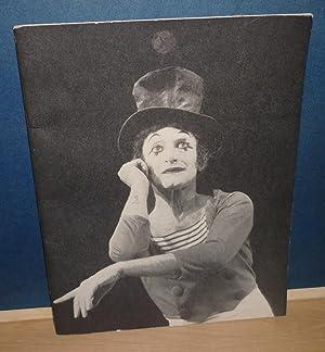 Marcel Marceau présente son programme 1972, Théâtre: MARCEAU (Marcel)
