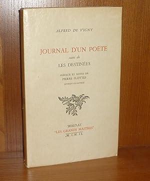 Journal d'un poète suivi de Les destinées,: VIGNY (Alfred De)