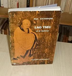 Lao Tseu et le taoïsme, maîtres spirituels,: KALTENMARK (Max)