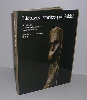 Lietuvos istorijos paminklaï. Monuments of Lithuanian History.: COLLECTIF
