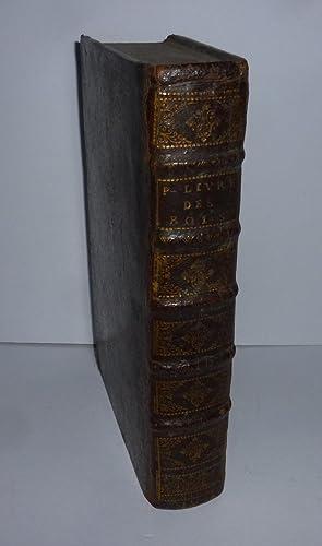 Les deux premiers livres des rois, traduits: LE MAISTRE DE