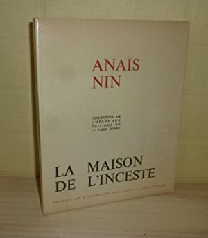 La maison de l'inceste. (House of incest) poème traduit par Jean Le-Gall Trocmé. Collection de L'...