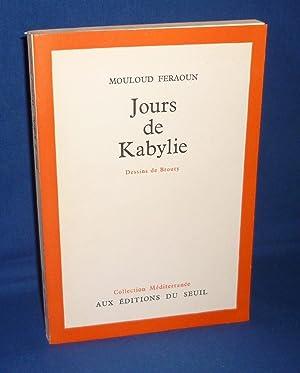 Jours de Kabylie, Dessins de Brouty, Collection: FERAOUN, Mouloud