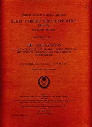 Great Barrier Reef Expedition 1828-29. Sientific Reports,: Russell, F. S.