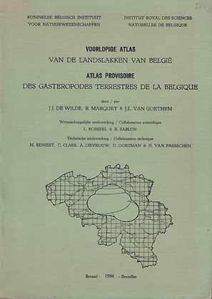 Voorlopige Atlas van de Landslakken van Belgie: de Wilde, J.