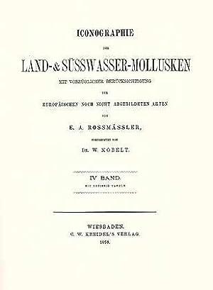 Iconographie der Land- & Süsswasser-Mollusken mit vorzüglicher: Kobelt, W.