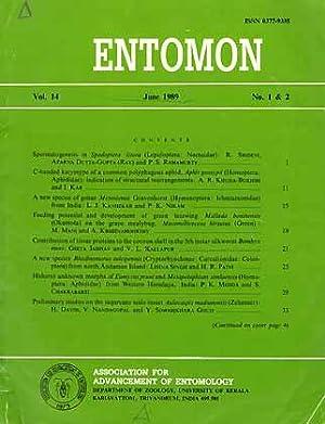 Entomon 14 (1 & 2)
