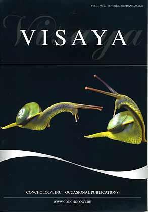 Visaya Vol 3 No 6 Journal Of Conchology