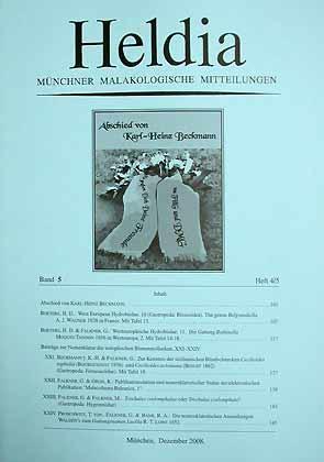 Heldia - Münchner Malakologische Mitteilungen 5 (4/5)