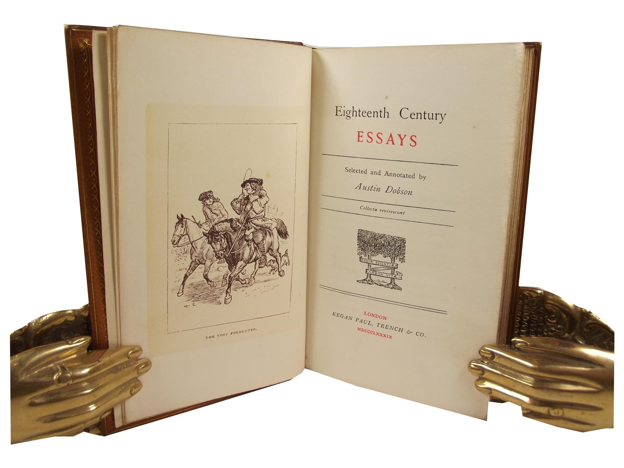features of 18th century literature