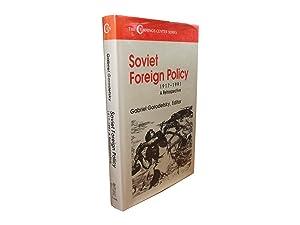 Soviet Foreign Policy 1917-1991 - A Retrospective: Gorodetsky, Gabriel (Ed)