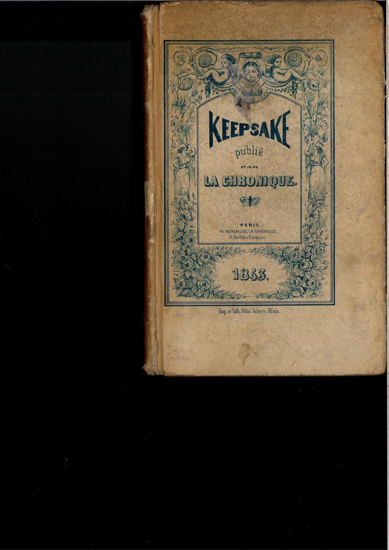 Keepsake de la chronique Collectif Very Good Hardcover