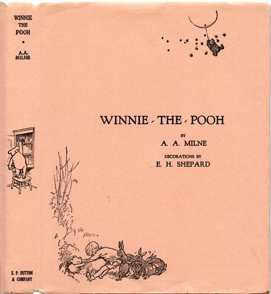 Winnie the pooh by milne a a e p dutton company for Rough and milne