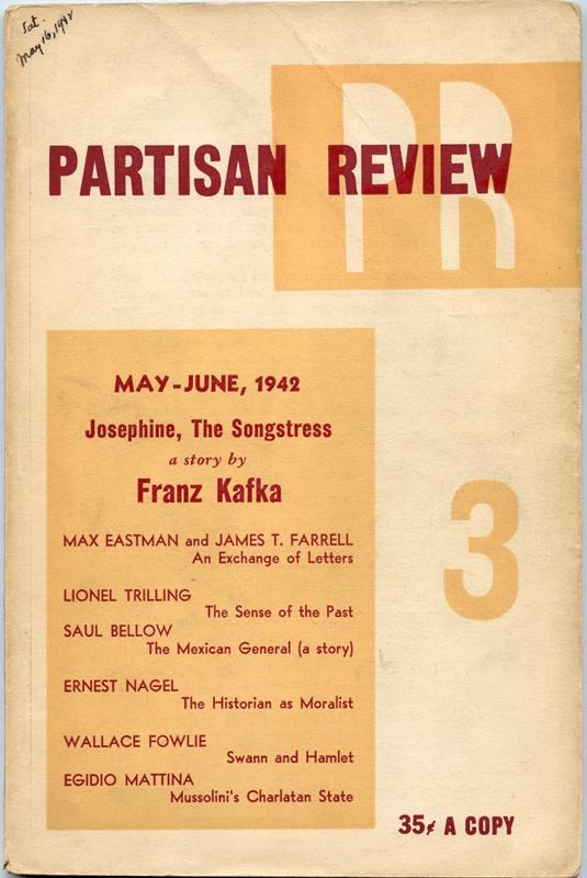 Partisan Review  Volume IX, No  3  May-June,