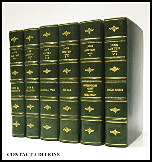 The Novels of Jane Austen. Text Based on Collation of the Early Editions By R.W. Chapman. With No...