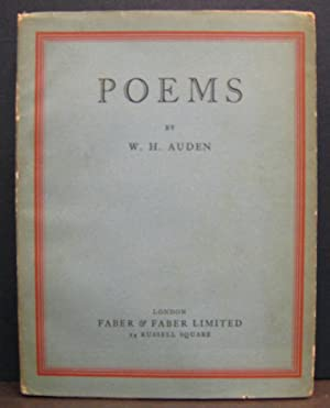Poems: AUDEN, W.H.