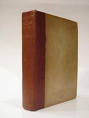 Notes on a Cellar-Book. Trinc!: SAINTSBURY, GEORGE