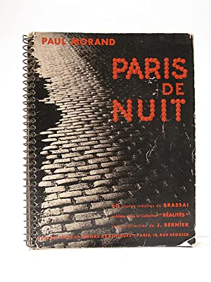 Paris De Nuit. 60 Photos Inedites De Brassai